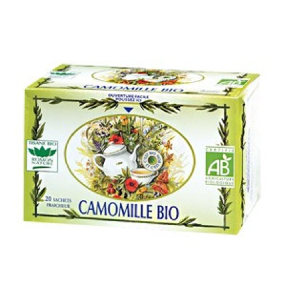 Camomille - 20.0 unites - tisanes simples bio - romon nature -16186