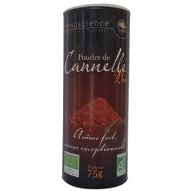 Cannelle moulue bio, origine inde - sachet 75 g - divers - ecoidées -135207
