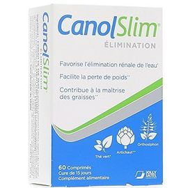 Canolslim elimination 60 comprimés - jolly jatel -223471