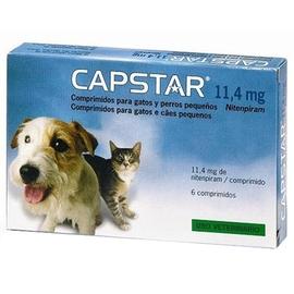 Capstar 11,4mg chats et petits chiens - novartis -190986