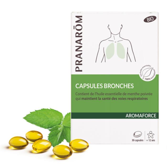 Capsules bronches Pranarom-229468