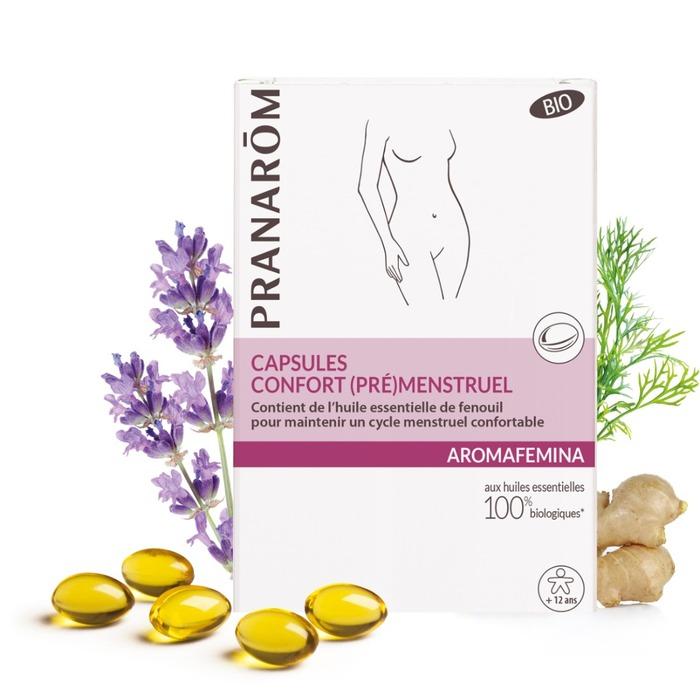 Capsules - confort (pré)menstruel Pranarom-226334