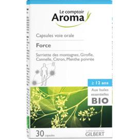 Capsules force voie orale 30 capsules - le comptoir aroma -221990