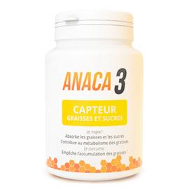Capteur graisses et sucres 60 gélules - anaca 3 -213536