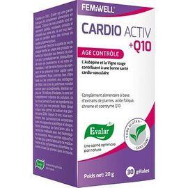 Cardio activ q10 age contrôle 30 gélules - evalar -226074