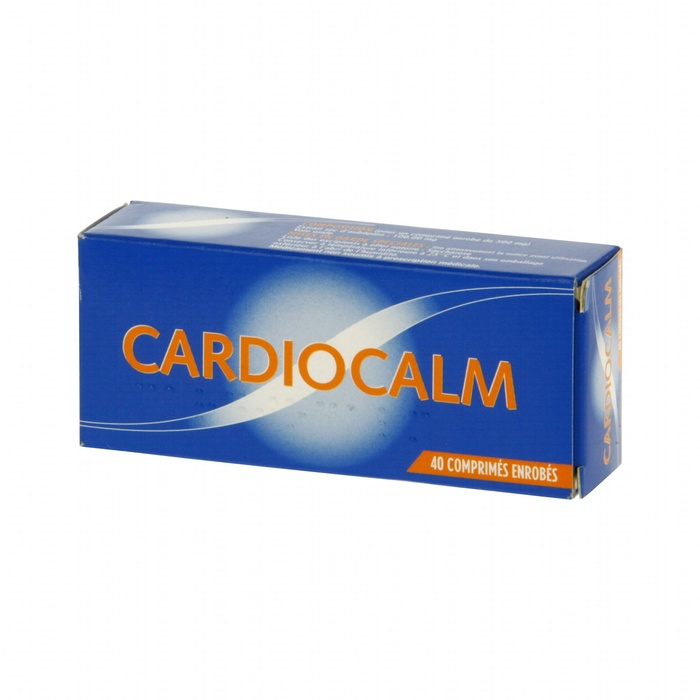 Cardiocalm - 80 comprimés enrobés Laboratoire pharmastra-192613