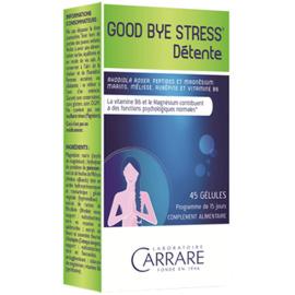 Carrare good bye stress 45 gélules - 45.0 unites - carrare Equilibre et détente-8900