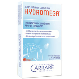 Carrare hydromega protection peau muqueuses 60 capsules - divers - carrare -134597
