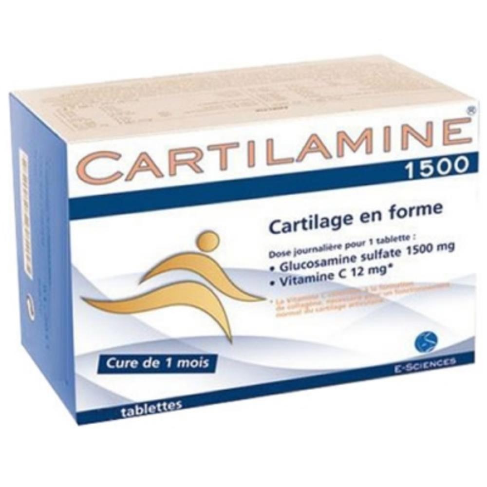Cartilamine 1500 - 90 tablettes - effiscience -195210