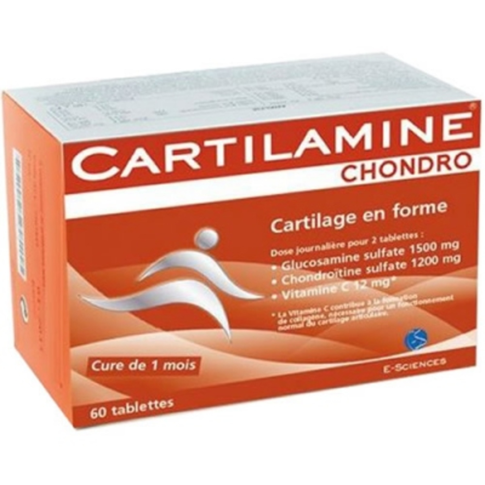 Cartilamine chondro - 60 tablettes - effiscience -195209