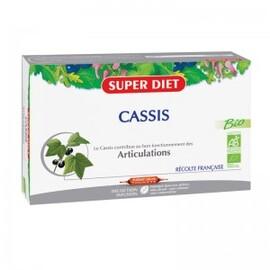 Cassis ampoules bio - 20.0 unites - ossature - articulations - super diet Souplesse des articulations-4448