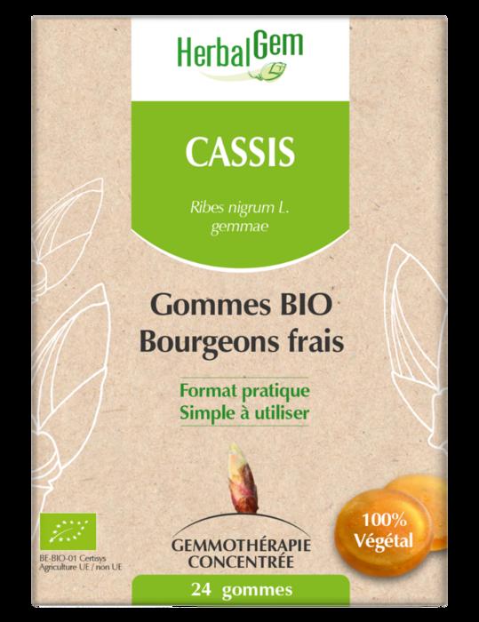 Cassis bio 24 gom Herbalgem-227200