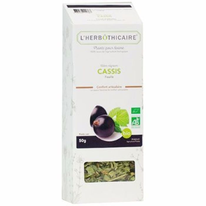 Cassis feuille bio 35g L'herbothicaire-216824