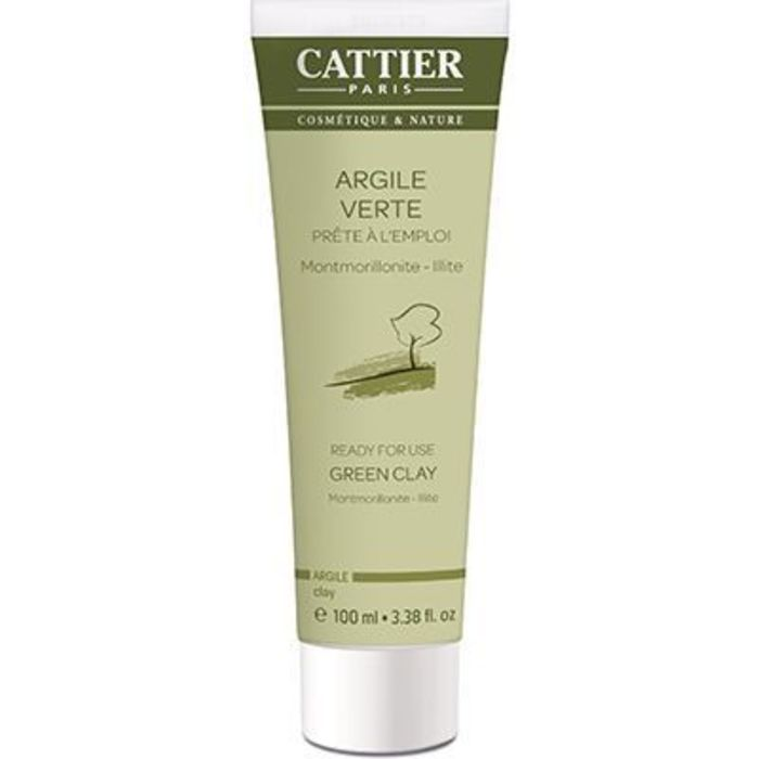 Cattier argile verte bio tube 100ml Cattier-1488