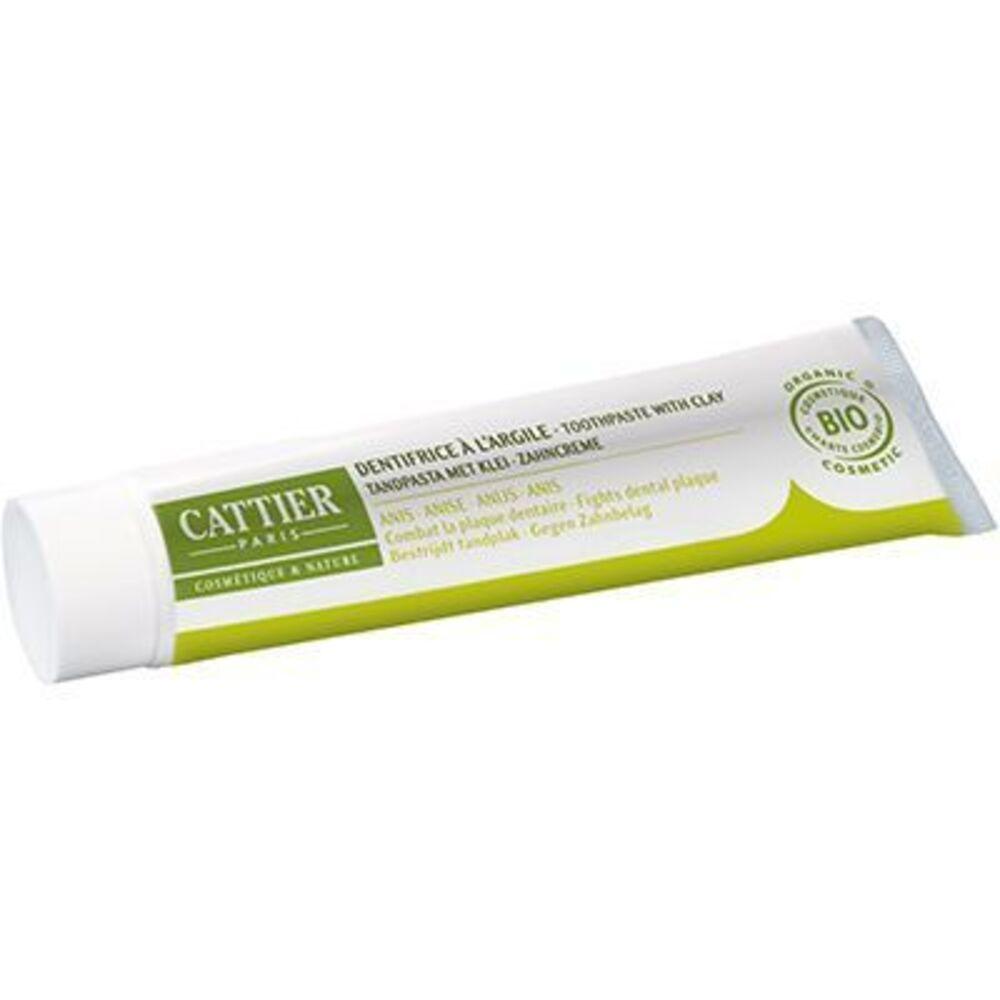 Cattier dentargile anis bio 75ml - 75.0 ml - dentargile - cattier Anti-plaque dentaire et anti-tartre-1509