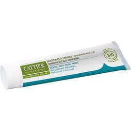 Cattier dentargile menthe bio 75ml - 75.0 ml - dentargile - cattier Rafraichissant-1506