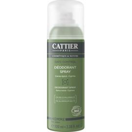 Cattier déodorant homme safe control bio 100ml - 100.0 ml - homme - cattier Sans alcool-103887