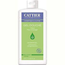 Cattier gel douche relaxant oranger tilleul bio 1l - 1000.0 ml - gels douche - cattier Relaxant-8297