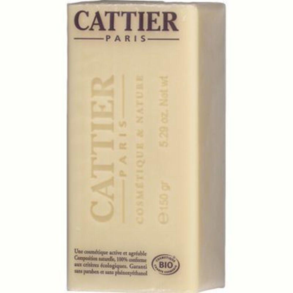 Cattier savon doux végétal surgras karité bio 150g - 150.0 g - hygiène corps - cattier Peaux sèches et sensibles-1493