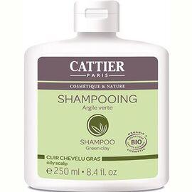 Cattier shampooing cheveux gras argile verte bio 250ml - 250.0 ml - shampooings - cattier Cheveux gras-1512