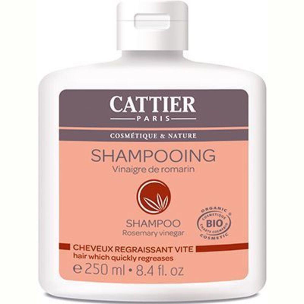 Cattier shampooing cheveux gras vinaigre de romarin bio 250ml - 250.0 ml - shampooings - cattier Cheveux gras-1516
