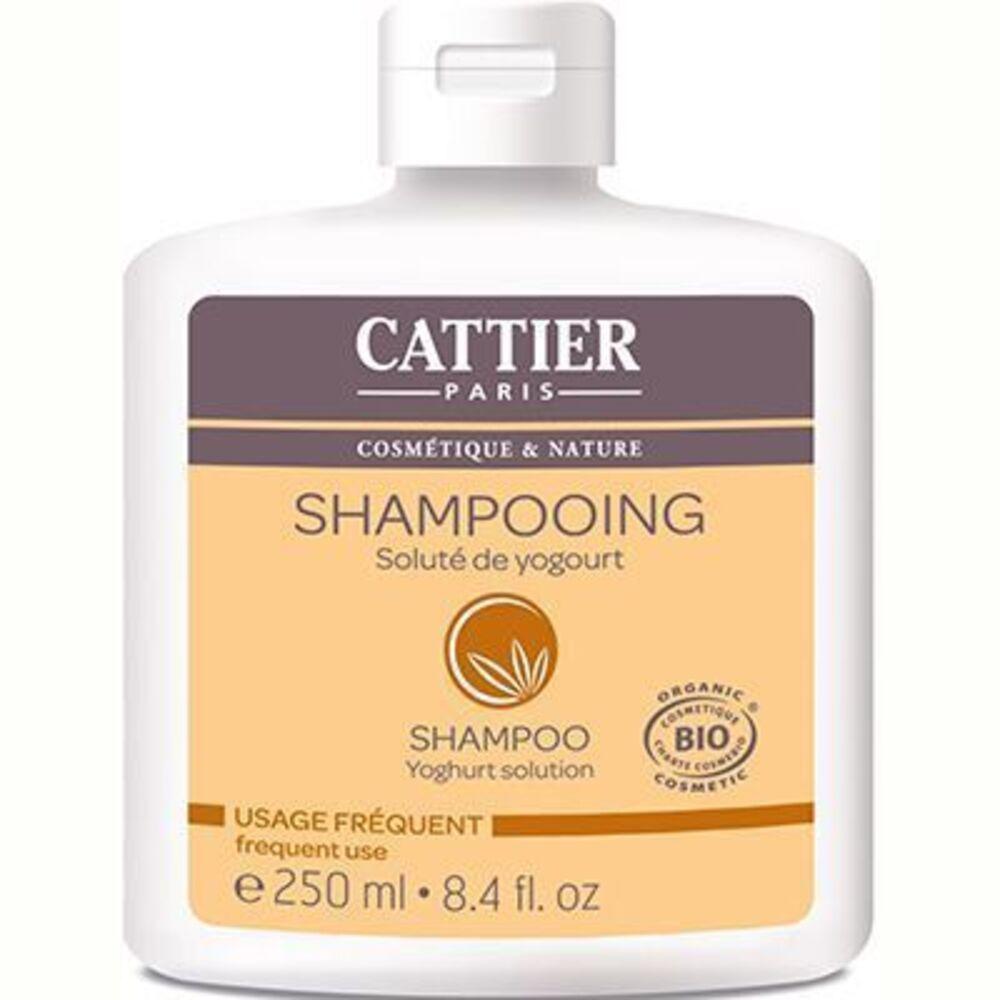 Cattier shampooing usage fréquent yogourt bio 250ml - 250.0 ml - shampooings - cattier Usage fréquent-1515