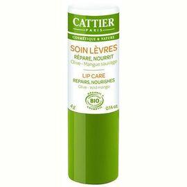 Cattier soin lèvres bio 4g - 4.0 g - visage - cattier -134599