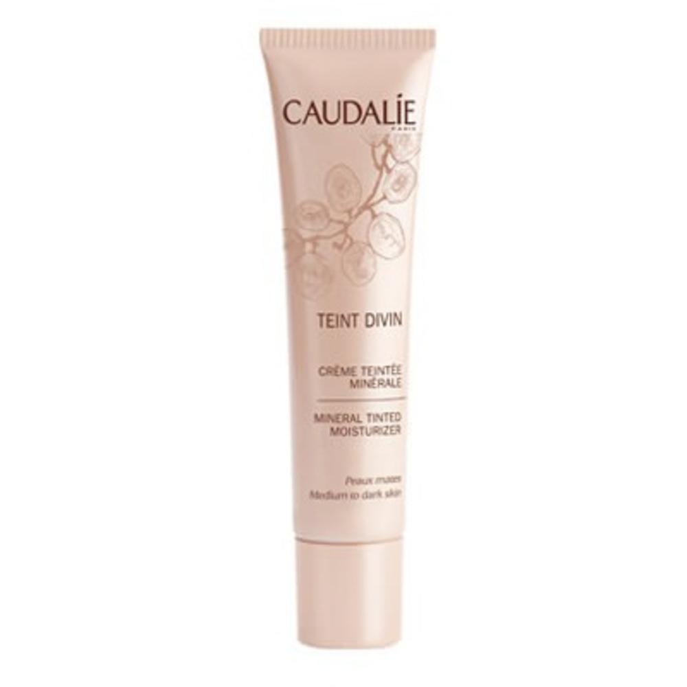 Caudalie crème teintée minérale peaux mates - 30.0 ml - teint divin - caudalie -129198