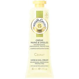 Cédrat crème mains & ongles 30ml - roger & gallet -220512