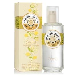 Cédrat eau fraîche parfumée - 100ml - 100.0 ml - cédrat - roger & gallet -63938