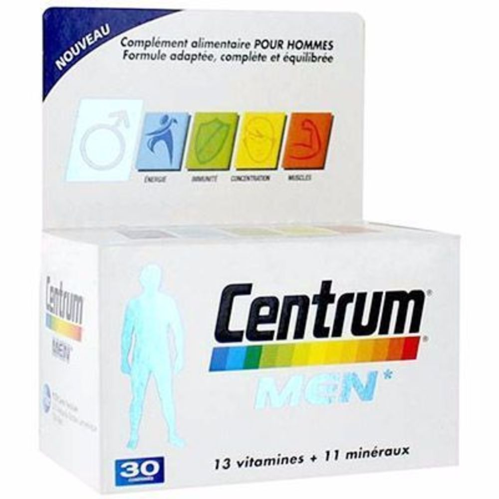 Centrum men 30 comprimés - centrum -215096