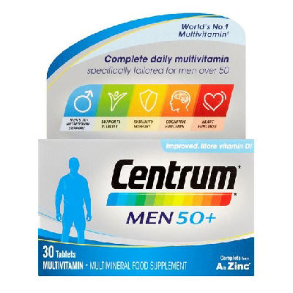Centrum men 50+ 30 comprimés - centrum -223035