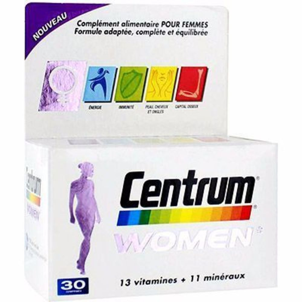 Centrum women 30 comprimés - centrum -215095