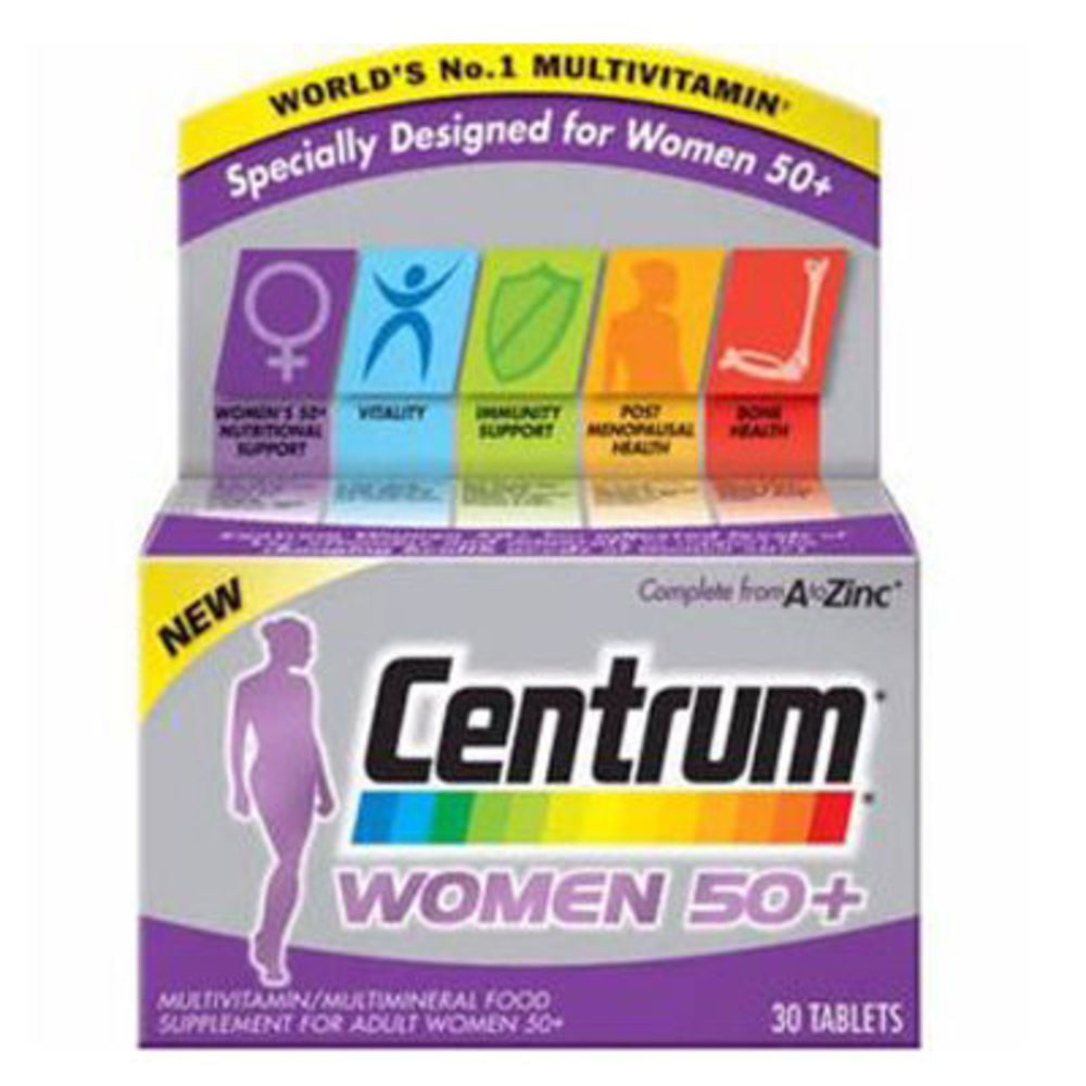 Centrum women 50+ 30 comprimés - centrum -223036