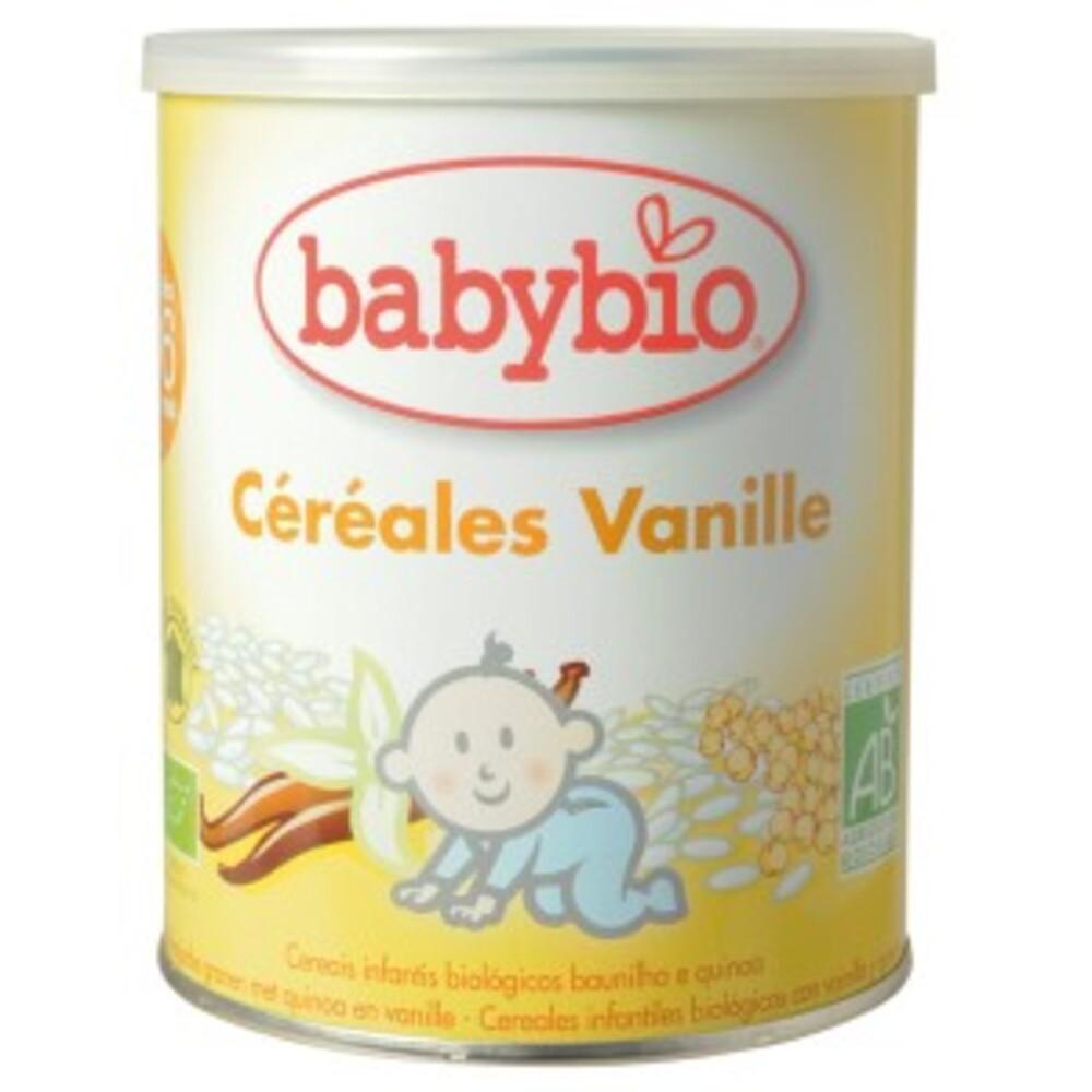 Céréales vanille bio - 220.0 g - céréales bio - babybio Dès 6 mois-14856