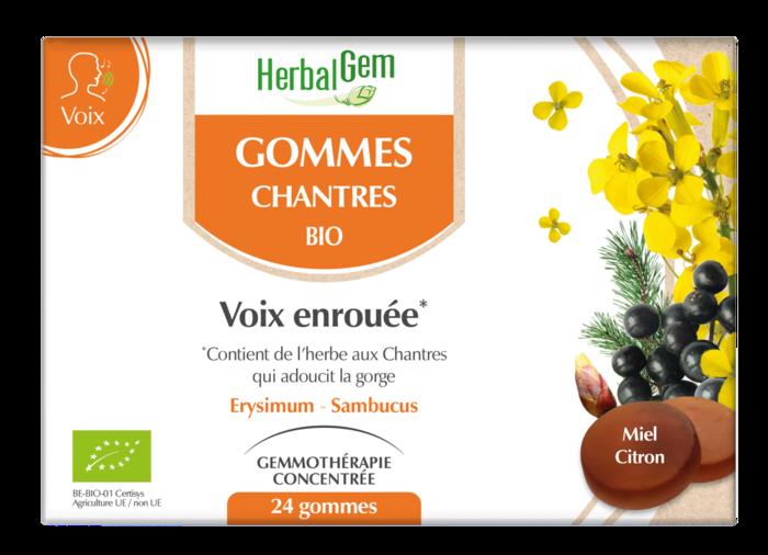 Chantres gommes bio prix/pièce pour info Herbalgem-230722