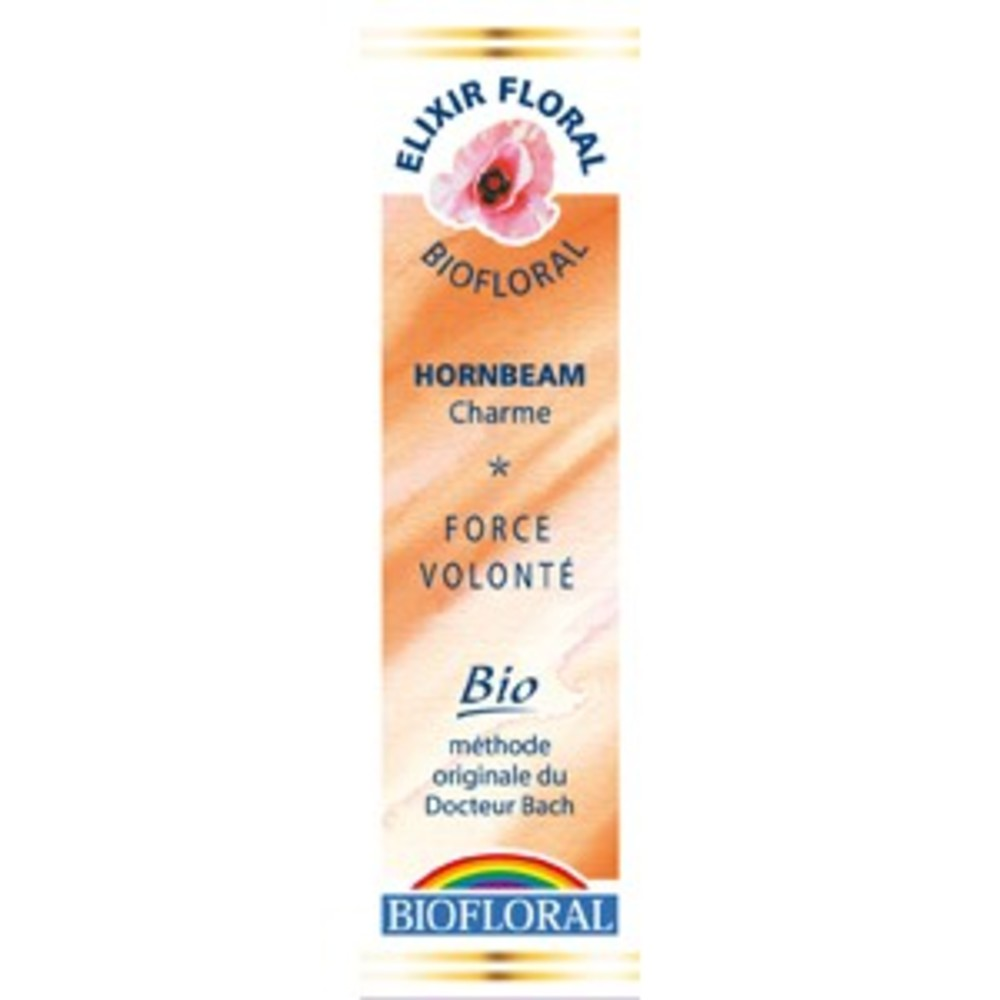 Charme (Hornbeam) - 20.0 ml - Elixirs Floraux - Biofloral Humeur : doutes et incertitude-1309
