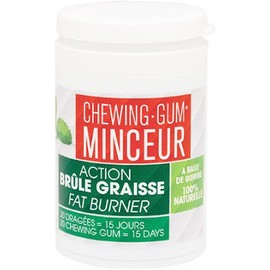 Chewing-gum minceur 30 dragées - l'authentique -214022