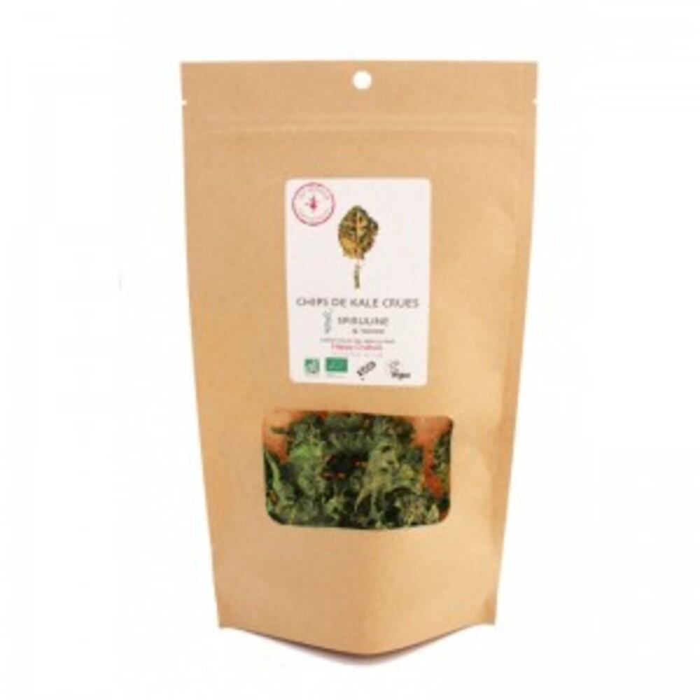 Chips de kale crues spiruline / tahini bio - 35 g - divers - sol semilla -189950