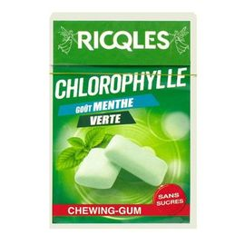 Chlorophylle chewing-gum menthe verte 29g - ricqles -214385