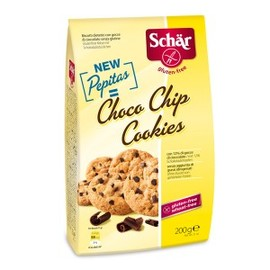 Choco chips cookies - 200 g - divers - schar -142632