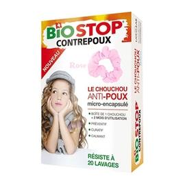 Chouchou anti poux rose - biostop -197467