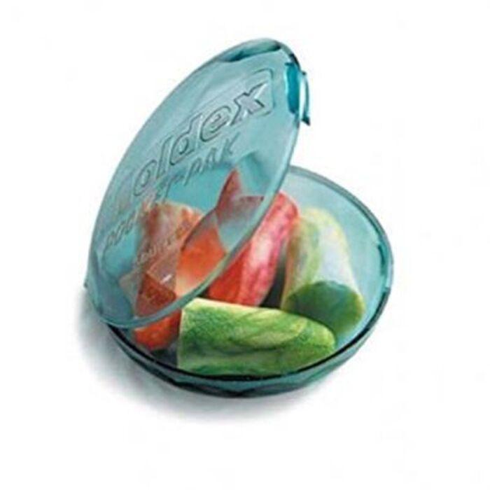 Chutt pocket bouchons d'oreille en mousse multicolores - boîte de 4 bouchons Chutt pocket-144239