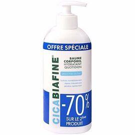 Cicabiafine baume corporel hydratant lot de 2 x 400ml - cicabiafine -216389