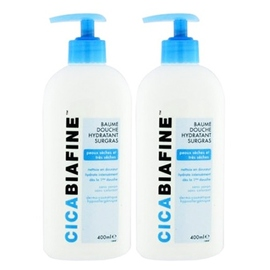 Cicabiafine baume douche - lot de 2 - 400.0 ml - dermo-cosmétique - cicabiafine -124511