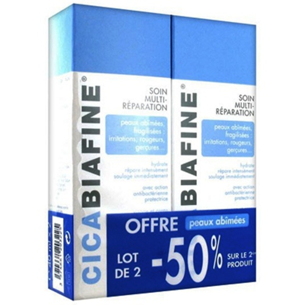 Cicabiafine baume multi-réparation - 2 x 40 ml - cicabiafine -210870