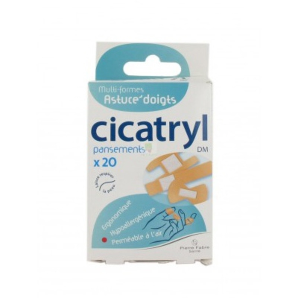 CICATRYL Pansements Multi-formes - Cicatryl -200544