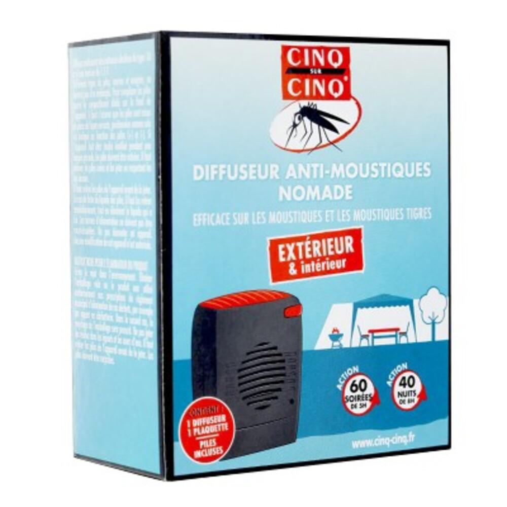 Cinq sur cinq diffuseur anti-moustiques nomade - cinq sur cinq -213892
