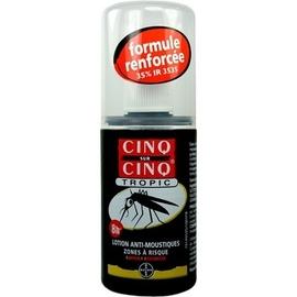 Cinq sur cinq tropic lotion anti-moustiques 75ml - 75.0 ml - bayer -83067