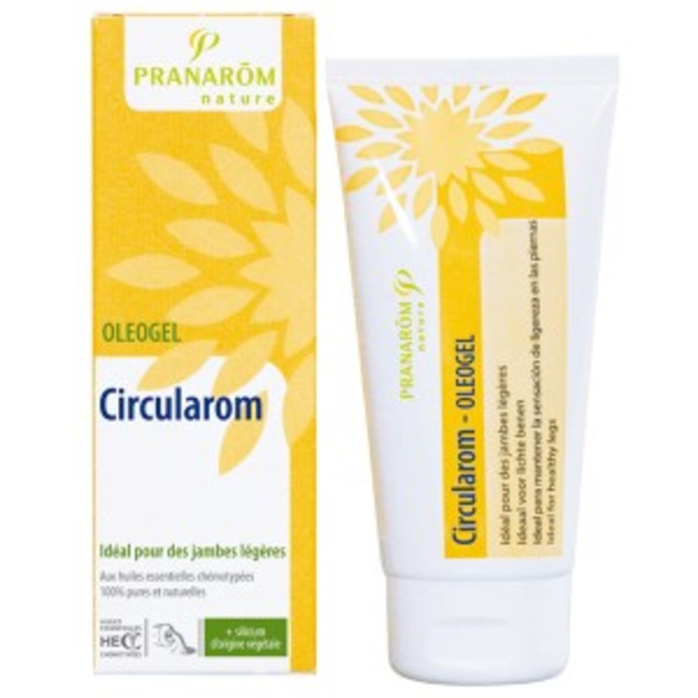 Circularom - 80.0 ml - les oléogels - pranarom Gel circulatoire-12371